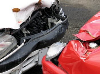 car accident head on collision crash